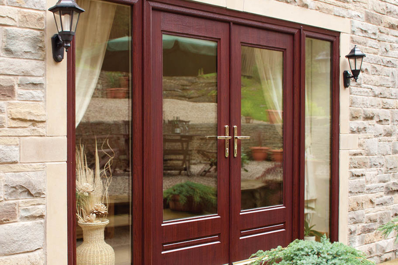 Cheap patio doors vented sidelight patio doors 100 patio for Pvcu patio doors
